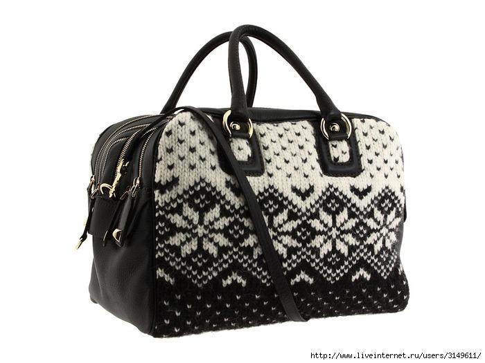 Вязаные сумки уже давно вошли в моду, они.  По-прежнему модными.