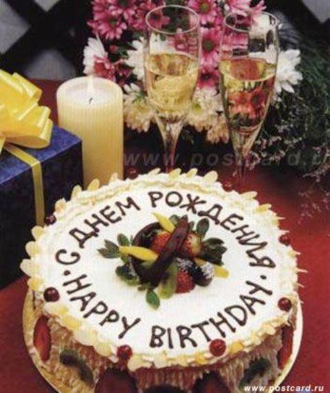 Фото поздравления на английском языке с днем рождения