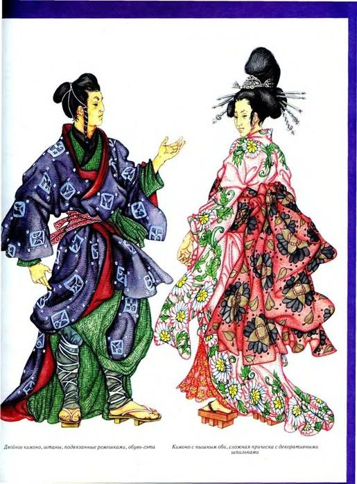 Мужской японский костюм 6