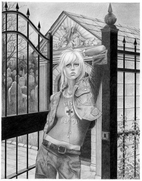 Рисунки карандашом девушек (61 рисунок,много ню) .