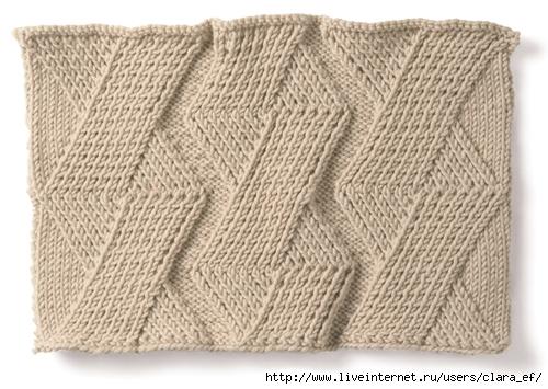 Вязание кос и жгутов спицами схемы ... шерстяная шапочка для.