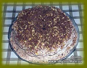 Торт опавшие листья рецепт с пошагово