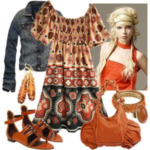 Фольклорный стиль одежды (этно стиль, богемный стиль)