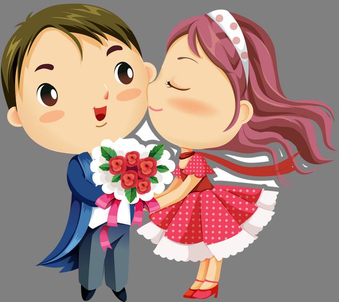 Мальчик дарит девочке цветы картинки 7