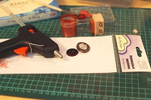 Имитация сургучной печати своими руками