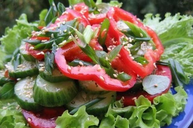 <b>Вкусный</b> весенний <b>салат</b>.<b>Вкусный</b> весенний <b>салат</b> готовится очень быстро и