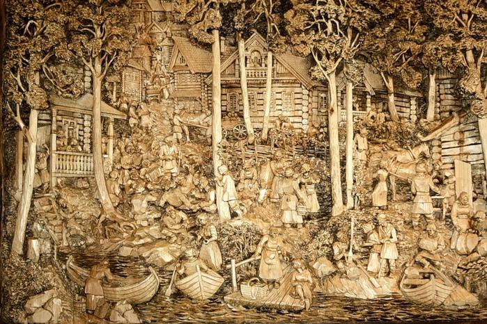 Пушкина как зделать поделки из дерева