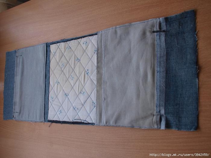 Мужская сумка из джинса своими руками