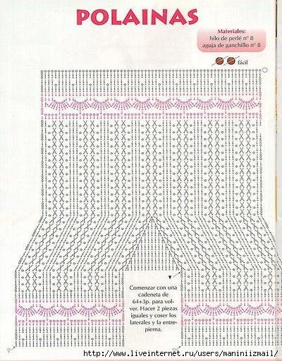 Вязание для новорожденных штанишек крючком 40