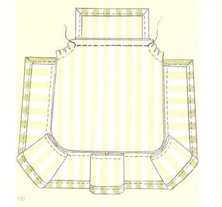 Чехлы на стулья раскрой