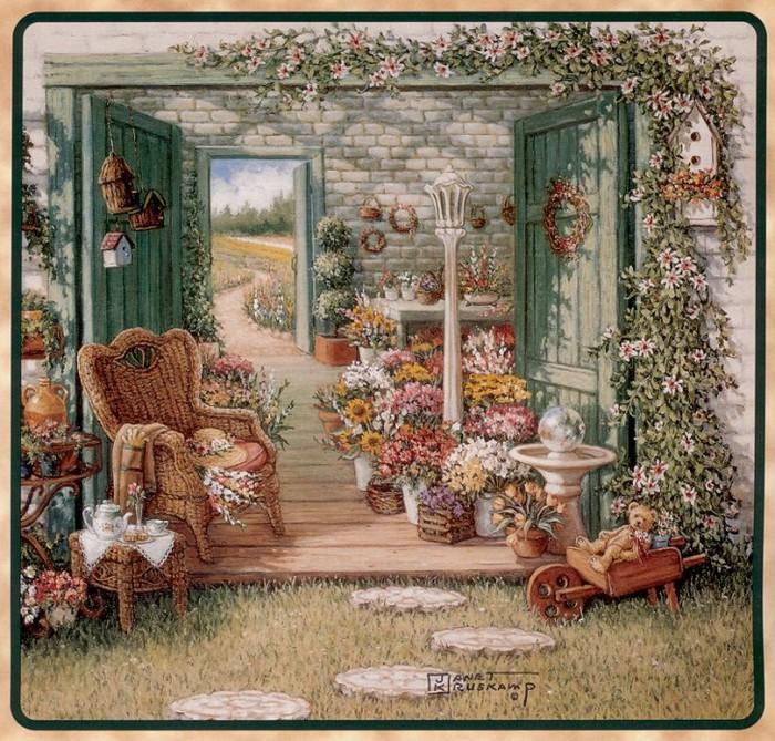 Посмотреть все фотографии серии Ведьмин домик.
