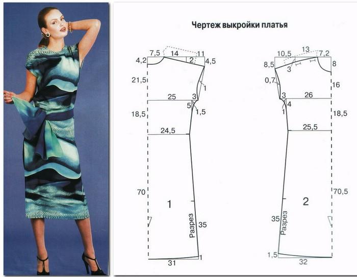 Летнее платье своими руками выкройка и модели