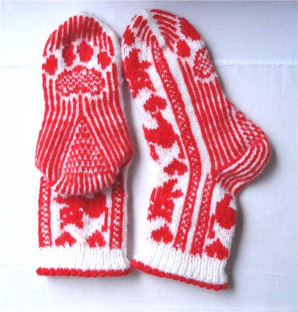 Носки на осинке вязание