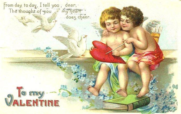 Открытка ко дню святого валентина на английском языке 9