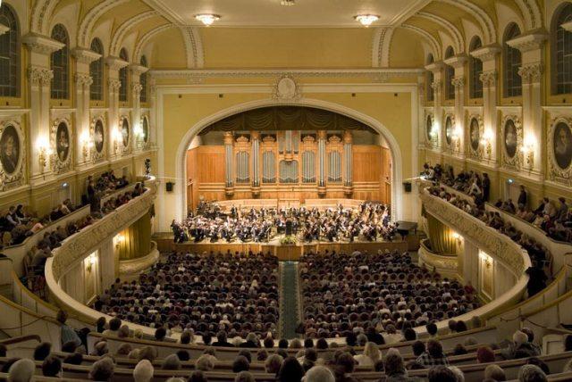 Восьмого июня выпускники московской консерватории