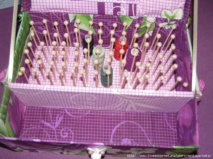 Коробочка для швейных ниток своими руками 95