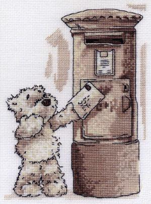 Обаятельные мишки тедди.  Мишка Тедди. скачать архив картинка + схема вышивки мишка Тедди.