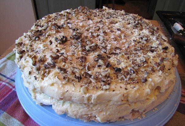 Рецепт приготовления торта с.