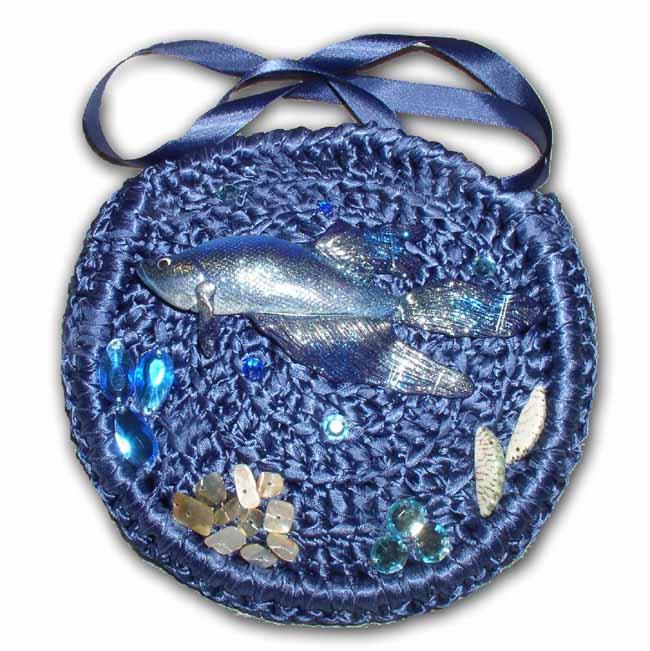 Рыбный четверг: сумки ручной работы с рыбами.  Прочитать целикомВ.