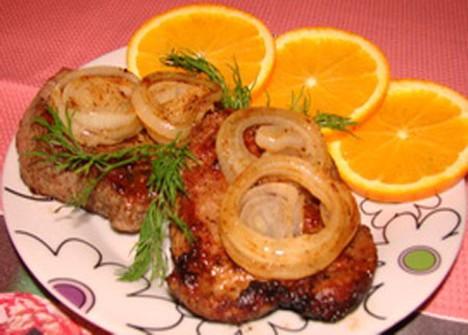 Мясо в апельсинах рецепт