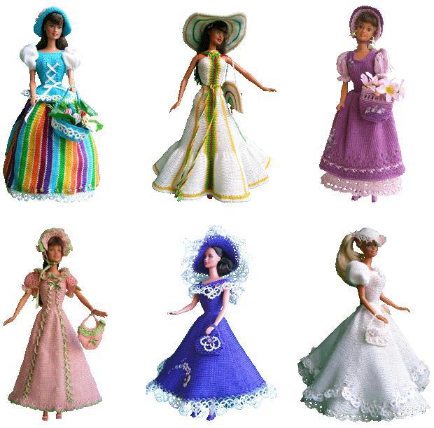 Клипарт кукла барби на прозрачном