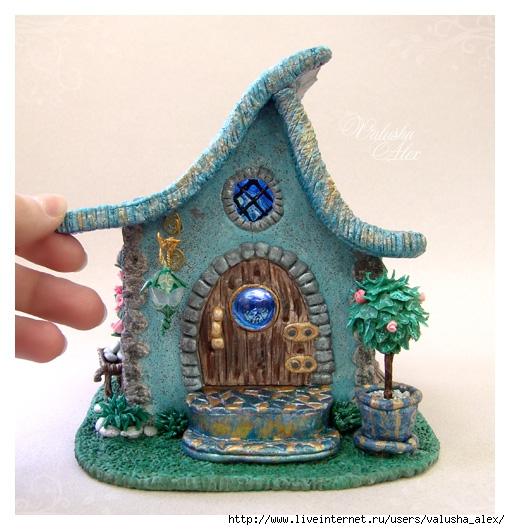 Домики из пластилина своими руками