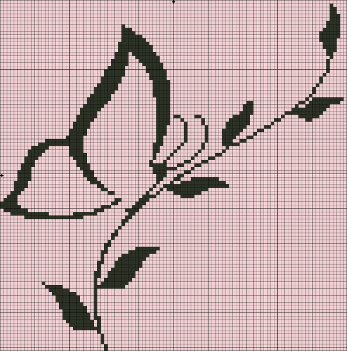Монохром (200 фото Вышивка