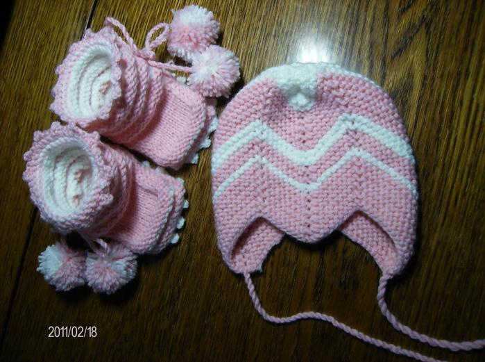 Как вязать шапочки с мысиком