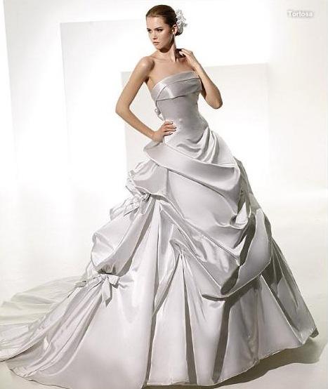 Эксклюзивные свадебные платья фото.