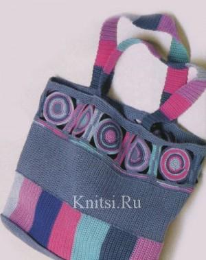 Описание: b вязаные сумки спицами схемы.  ЖЕНЩИНАМ: классика. планшет сумка, осень 2012 сумки.