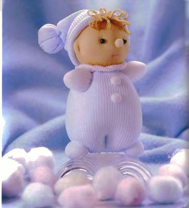 Куколки из капроновых носков
