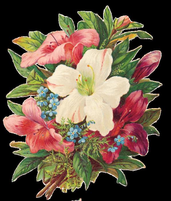 Анимированные картинки цветы двигаются 8