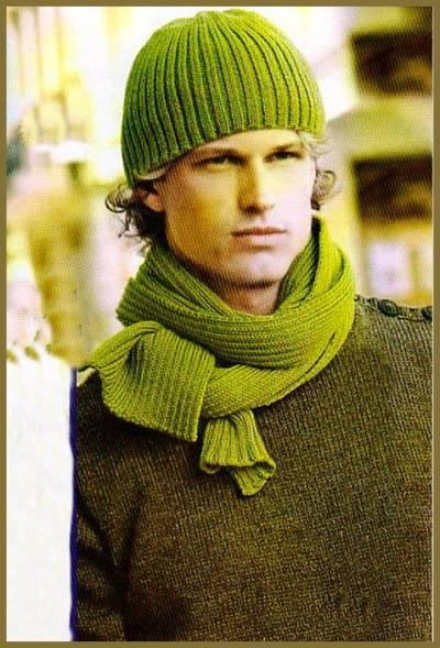 связанные шарфы для мужчин.
