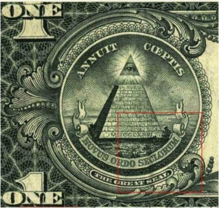 Kristan t harris goes over the esoteric symbols hidden in the dollar bill and possible meanings