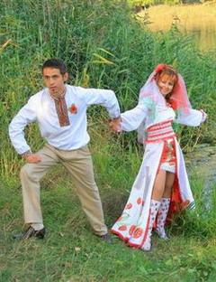 русское народное платье.