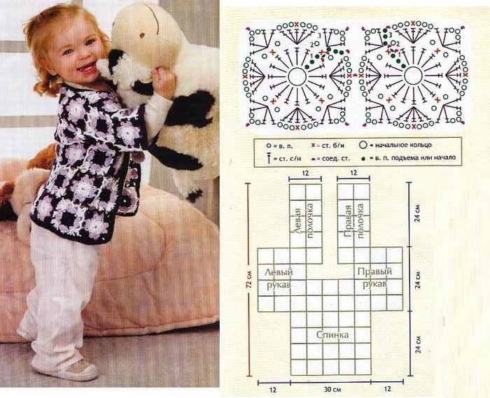 Вязание детских вещей модели со схемами