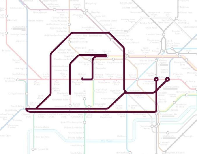 Карту метро можно использовать по разному, например как навигатор по городу, или схему для рисования...