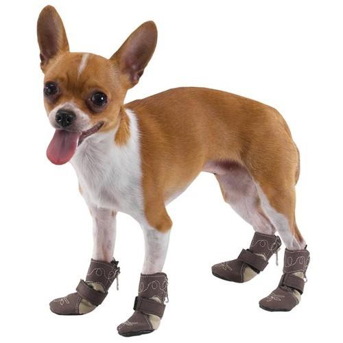 Выкройка ботинки для собаки - Выкройка