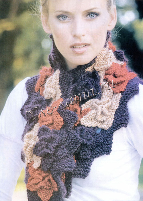 Стильный шарф 11