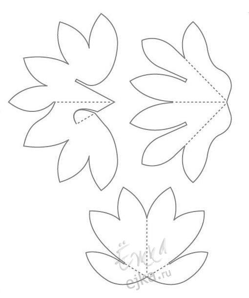 По описанию из книги изысканные цветы