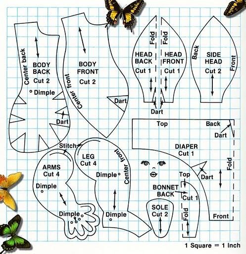 Как сделать текстильных кукол своими руками 146