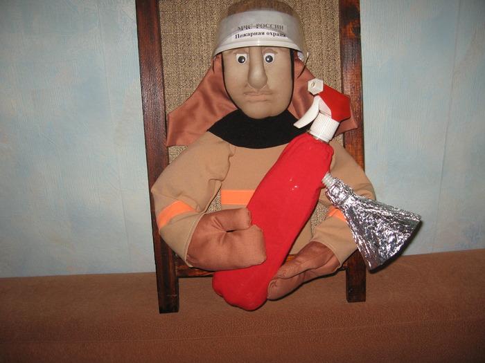 Куклы пожарные своими руками