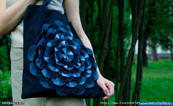 KlaDis.ru.  Замечательная шитая сумочка и подробный МК по пошиву.
