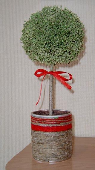Как сделать круглое дерево своими руками