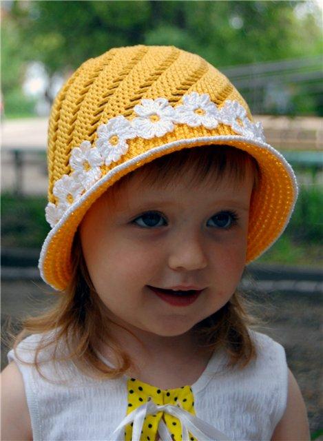 Вязание крючком шапочки для