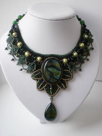 Украшения из бисера и камней от Жени Семиной: авторская бижутерия,авторские украшения.