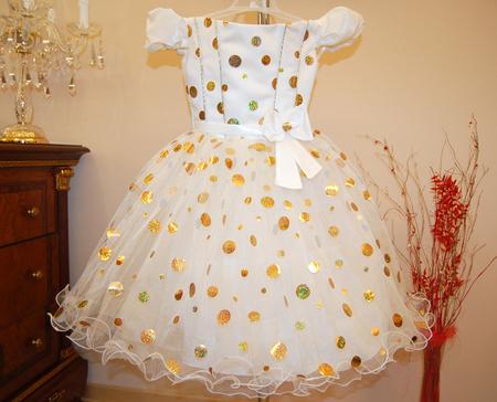Пышное платье для девочки своими руками мк