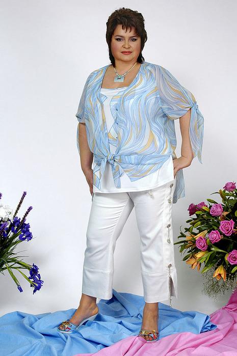 Блузки Для Полных 2014 Фото В Омске