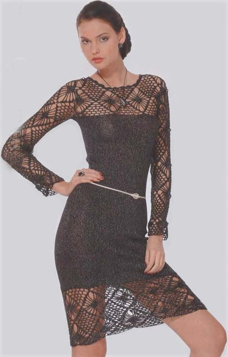 Одежда для женщин крючком 3