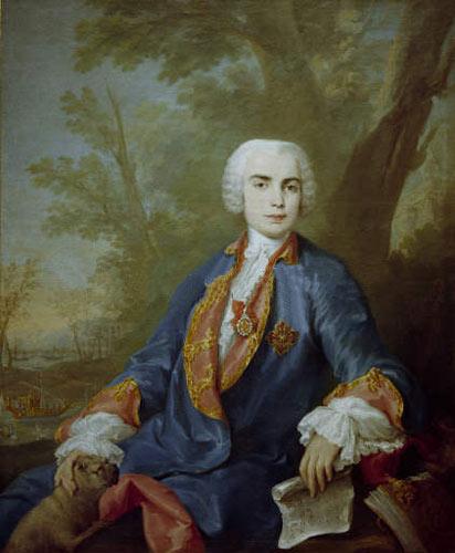 После закрытия театра 1706 жил в италии